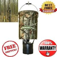 NEW MOULTRIE MFH-EP 6.5 Gallon Econo Plus Hanging Deer Feeder w/ Photocell Timer