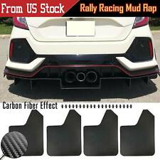 Wide Body Rally Mud Flaps Splash Guards Mudflaps For Honda Civic Type R Coupe Si