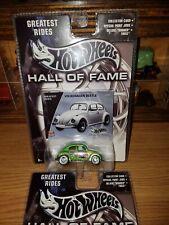 Hot wheels vw beetle Hall of fame