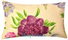 Designers Guild Floral Bolster Cushion Cover 20'' x 12''