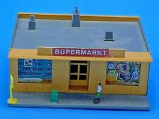 Pola N Scale Supermarkt Grocery Store Vintage W.Germany Very Detailed RARE Built