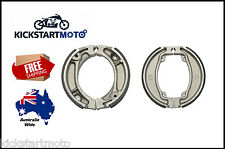 For Early Honda CT110 CT 110 Postie Bike Pair Front Rear Brake Shoes Set 79-98