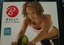 Bally Ally Total Fitness Ab Toning Wheel Guide included