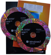 Microsoft Windows 7 ULTIMATE | Retail-Box | DVD 32+64bit | Dauerlizenz | Deutsch