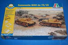 Italeri 1/72 7519 semovente M40 da 75/18
