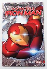 Invincible Iron Man Reboot Vol. 1 Softcover Marvel Graphic Novel Comic Book