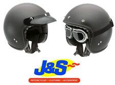 Women's Open Face Matt Motorcycle Helmets