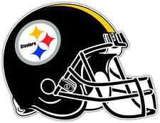 "Pittsburgh Steelers NFL Football Car Bumper Locker Notebook Sticker Decal 5""X4"""