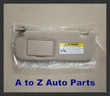 NEW & IMPROVED 2006-2008 Hyundai Sonata DRIVER SIDE Beige SUN VISOR, OEM Hyundai