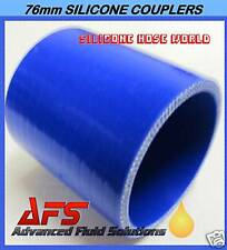 """60mm x 2 3/8"""" BLUE SILICONE RADIATOR HOSE COUPLER PIPE"""