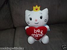 2012 Angel Cat Sugar Be Mine Hello Kitty Dan Dee Plush Doll Figure W/ Crown