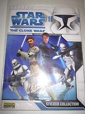 STAR WARS THE CLONE WARS DESSIN ANIME TV SHOW MINT NEUF ALBUM INTROUVABLE EN FR