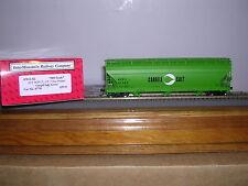 """INTER.#47012 Cargill Salt """"Green"""" ACF.4650 Cu.Ft.3-Bay C.F. Hop. Car w/2 #s H.O."""