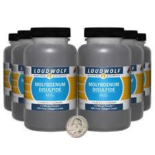 Molybdenum Disulfide / 1.5 Lbs / 6 Bottles / 99% Reagent Grade