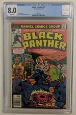 BLACK PANTHER #1 (1977) CGC GRADED 8.0 KIRBY ART