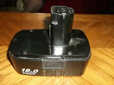 ONE CRAFTSMAN 18 VOLT Ni-Cd BATTERY 130260001 - USED,WORKING