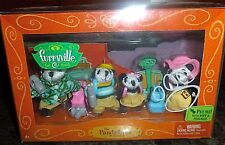 Furryviille * Pandafords * Mattel 2005 * Playset * Calico Critters *