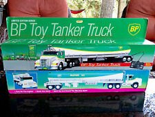 BP Limited Edition Toy Tanker Truck Wired Remote Control Edition 1992 & 1994 LOT