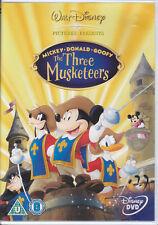 The Three Musketeers - Mickey Donald Goofy  UK Disney R2 Pal DVD