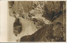 Real photo county antrim the rope bridge carrick a rede judges real photo