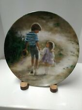 """Donald Zolan's """"Country Walk"""" 1989 Collector Plate"""