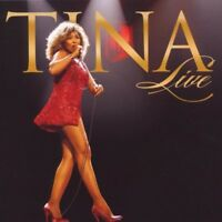 "TINA TURNER ""TINA  LIVE"" CD+DVD NEW!"
