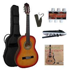 1/2 Gitarre, Kindergitarre classic sunburst  J1 im Set, Tasche, Band, Zubehör, ö