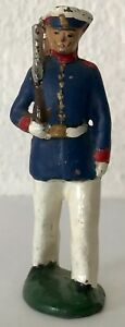 ANTIQUE GRENADIERS SOLDIER WITH RIFLE TOY  - HAND PAINTED