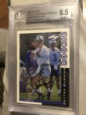 PEYTON MANNING 1998 SCORE RC HAWAII PREVIEW AUTOGRAPH AUTO BGS 8.5 Highest Grade