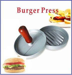 Non-Stick Hamburger Press Burger meat beef grill patty maker Mould kitchen Tools