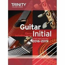 Trinity College London Guitar Exam Pieces 2016-2019  Initial Grade