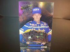 Insert Ward Burton #31 Hardee's Wheels High Gear  BUSCH CLASH 1995 Card #BC12