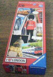 LONDON GUARDSMAN RAVENSBURGER 170 PIECE JIGSAW PUZZLE 2015 I LOVE LONDON