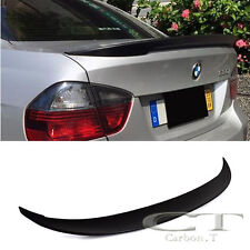 Stock IN US Unapinted For BMW E90 Sedan High Kick P Style Trunk  Spoiler 05-11