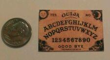 Miniature dollhouse Halloween  Ouija Board  Barbie 1/12 Scale or playscale A