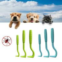 Lot de 3 crochet tire-tiques soins neuf pour animal chien, chat