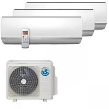 Mundoclima Trio-Split Air Conditioner 2x2,6 KW 1x5,2 wall mounted boilers, Max. 7,9 kW cooling