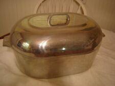 Vintage Wagner Ware Sidney -O- Magnalite #4269 Aluminum 17 Qt Roaster Dutch Oven