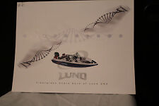 LUND BOATS DEALER CATALOG 2008 FIRST FIBERGLASS FISH BOAT PAMPLET AWESOME CANOES