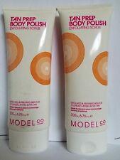 Lot of 2 Model Co Tan Prep Body Polish 200 ml Exfoliating Scrub for Body 6.76 oz