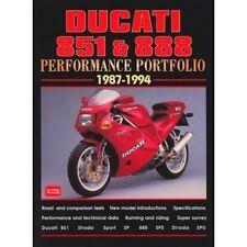 Ducati 851 & 888 Performance Portfolio 1987-1994 book paper