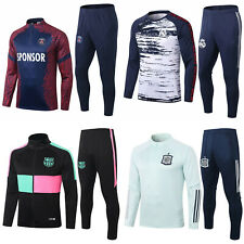 New Adult Mens Soccer Survetement Tracksuit Sportwear Outfits Training Suit