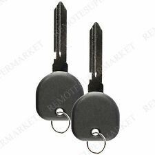 2 Replacement for Cadillac 2003-2007 CTS Remote Car Fob Key Keyless Entry