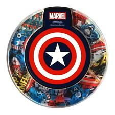 <MARVEL> wireless charger Captain America iPhone X / 8 / 8Plus Galaxy S6