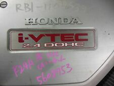 Honda Accord K24A 2.4L Engine TSX i-vtec Engine K24A Type S Engine 200hp Red Top