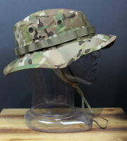 OCP Multicam Tactical Boonie Hat Military Camo Bucket Wide Brim Sun Fishing Cap
