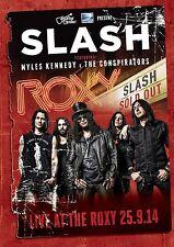 SLASH of GUNS N ROSES New Sealed 2017 LIVE HOLLYWOOD CONCERT DVD