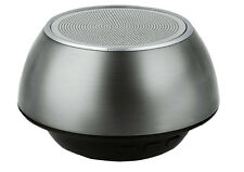 PURE ACOUSTICS BLUETOOTH PORTABLE SPEAKER IN SILVER