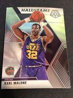 2019-20 Panini Prizm Mosaic Karl Malone Hall of Fame #284 Jazz Base