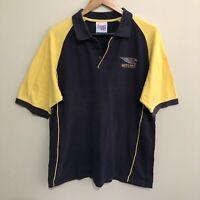 West Coast Eagles Official AFL Football Polo Shirt Mens Large